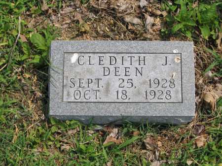 DEEN, CLEDITH J. - Lawrence County, Arkansas   CLEDITH J. DEEN - Arkansas Gravestone Photos