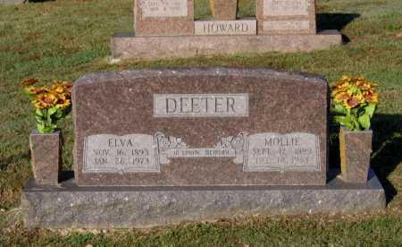 DEETER, ELVA LINGO - Lawrence County, Arkansas | ELVA LINGO DEETER - Arkansas Gravestone Photos