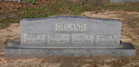 DELAND, PHOEBE M. - Lawrence County, Arkansas | PHOEBE M. DELAND - Arkansas Gravestone Photos