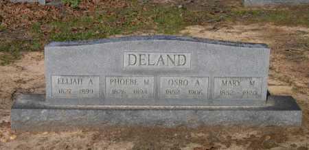 DELAND, ELIJAH A. - Lawrence County, Arkansas | ELIJAH A. DELAND - Arkansas Gravestone Photos