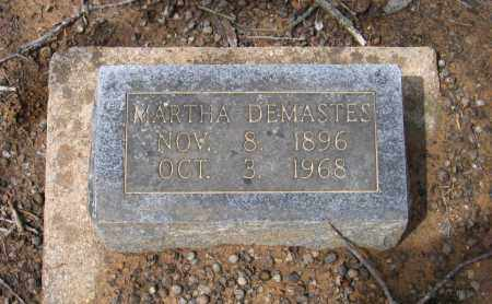 DEMASTES, MARTHA - Lawrence County, Arkansas | MARTHA DEMASTES - Arkansas Gravestone Photos
