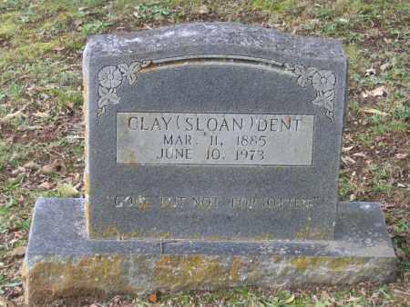 DENT, CLAY SLOAN - Lawrence County, Arkansas | CLAY SLOAN DENT - Arkansas Gravestone Photos