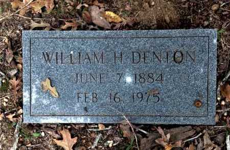 DENTON, WILLIAM HENRY - Lawrence County, Arkansas | WILLIAM HENRY DENTON - Arkansas Gravestone Photos