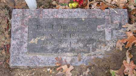 DEPRIEST, REV., ELI JACKSON - Lawrence County, Arkansas   ELI JACKSON DEPRIEST, REV. - Arkansas Gravestone Photos