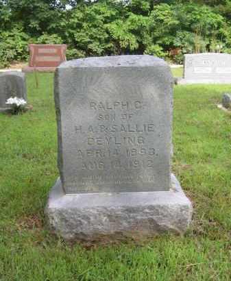 DEYLING, RALPH C. - Lawrence County, Arkansas | RALPH C. DEYLING - Arkansas Gravestone Photos