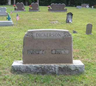 DICKERSON, NANCY J. - Lawrence County, Arkansas | NANCY J. DICKERSON - Arkansas Gravestone Photos