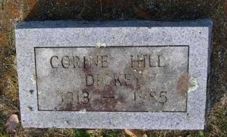 HILL DICKEY, FRANCES CORINE - Lawrence County, Arkansas | FRANCES CORINE HILL DICKEY - Arkansas Gravestone Photos