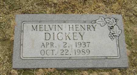 DICKEY, MELVIN HENRY - Lawrence County, Arkansas | MELVIN HENRY DICKEY - Arkansas Gravestone Photos