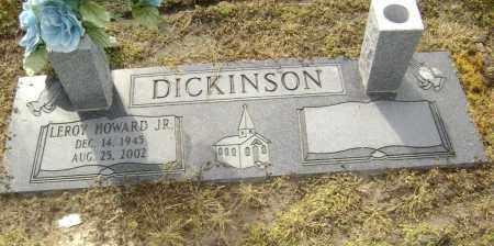 DICKINSON JR, REV, LEROY HOWARD - Lawrence County, Arkansas   LEROY HOWARD DICKINSON JR, REV - Arkansas Gravestone Photos
