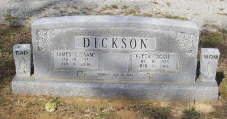 "DICKSON, CLEDA AGNES ""AGGIE"" - Lawrence County, Arkansas | CLEDA AGNES ""AGGIE"" DICKSON - Arkansas Gravestone Photos"