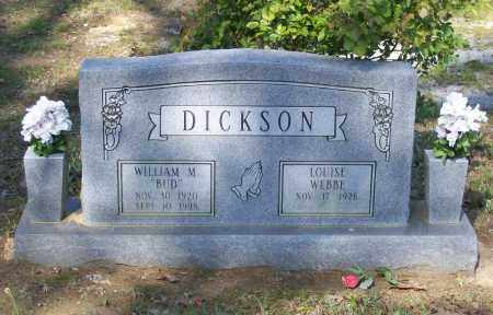 "DICKSON, WILLIAM MARSHALL ""BUD"" - Lawrence County, Arkansas 
