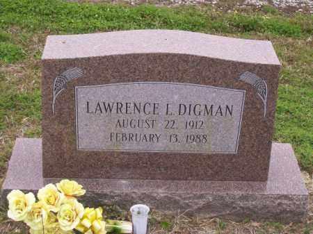 DIGMAN, LAWRENCE L. - Lawrence County, Arkansas | LAWRENCE L. DIGMAN - Arkansas Gravestone Photos