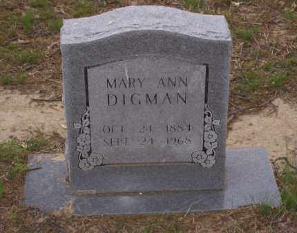 LEWIS DIGMAN, MARY ANN - Lawrence County, Arkansas | MARY ANN LEWIS DIGMAN - Arkansas Gravestone Photos