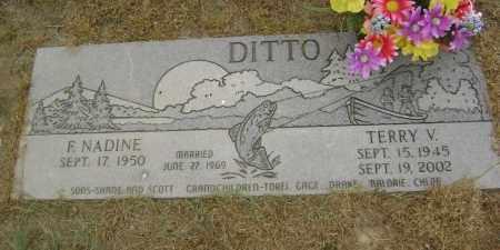 DITTO, TERRY V. - Lawrence County, Arkansas | TERRY V. DITTO - Arkansas Gravestone Photos