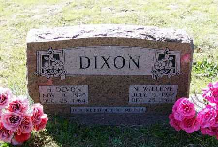 DIXON, HENRY DEVON - Lawrence County, Arkansas | HENRY DEVON DIXON - Arkansas Gravestone Photos