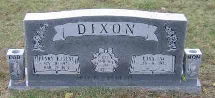 DIXON, HENRY EUGENE - Lawrence County, Arkansas   HENRY EUGENE DIXON - Arkansas Gravestone Photos