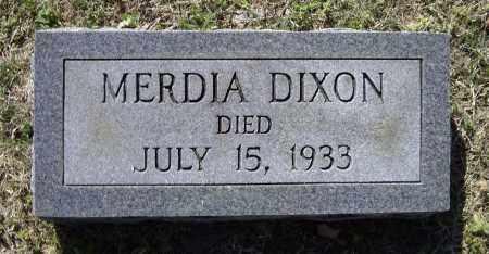 DIXON, MERDIA - Lawrence County, Arkansas | MERDIA DIXON - Arkansas Gravestone Photos