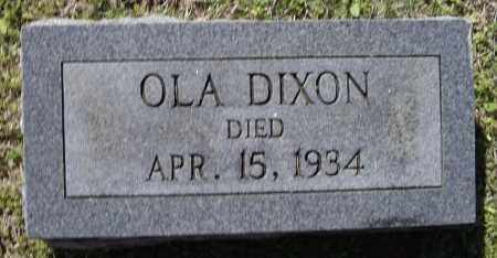 MAXWELL DIXON, OLA - Lawrence County, Arkansas   OLA MAXWELL DIXON - Arkansas Gravestone Photos