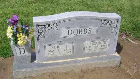 DOBBS, BURL H - Lawrence County, Arkansas   BURL H DOBBS - Arkansas Gravestone Photos
