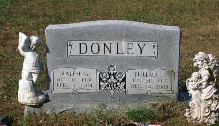 DONLEY, THELMA J. SINKLER LOVELADY - Lawrence County, Arkansas   THELMA J. SINKLER LOVELADY DONLEY - Arkansas Gravestone Photos