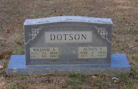DOTSON, WILLIAM AMMON - Lawrence County, Arkansas   WILLIAM AMMON DOTSON - Arkansas Gravestone Photos