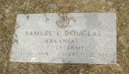 DOUGLAS  (VETERAN), SAMUEL L. - Lawrence County, Arkansas   SAMUEL L. DOUGLAS  (VETERAN) - Arkansas Gravestone Photos