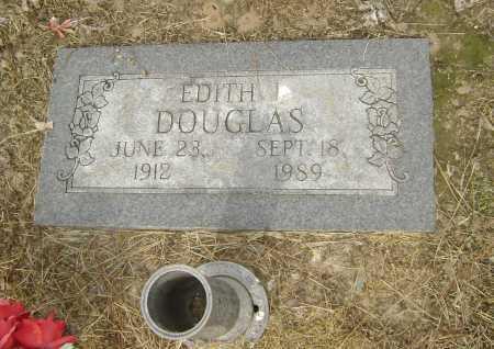 DOUGLAS, EDITH INEZ - Lawrence County, Arkansas | EDITH INEZ DOUGLAS - Arkansas Gravestone Photos