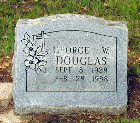 DOUGLAS, GEORGE WALLACE - Lawrence County, Arkansas | GEORGE WALLACE DOUGLAS - Arkansas Gravestone Photos
