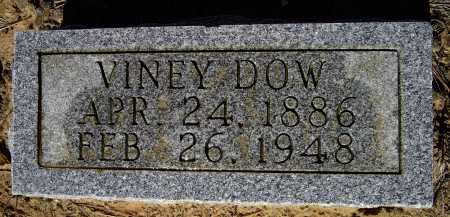 """STROUD DOW, MELVINEY """"VINEY"""" - Lawrence County, Arkansas 