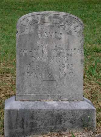DOWNING, DAVID - Lawrence County, Arkansas | DAVID DOWNING - Arkansas Gravestone Photos