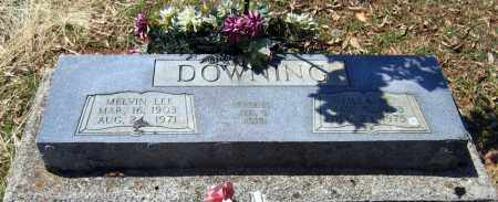 BURGESS DOWNING, LILLA M. - Lawrence County, Arkansas | LILLA M. BURGESS DOWNING - Arkansas Gravestone Photos