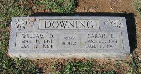 ADAMS DOWNING, SARAH E. - Lawrence County, Arkansas | SARAH E. ADAMS DOWNING - Arkansas Gravestone Photos