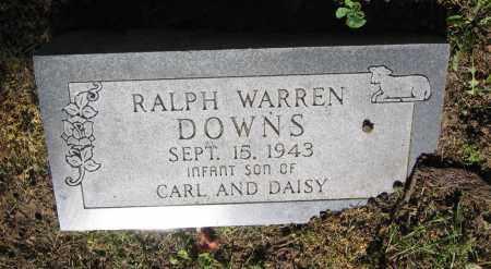 DOWNS, RALPH WARREN - Lawrence County, Arkansas | RALPH WARREN DOWNS - Arkansas Gravestone Photos