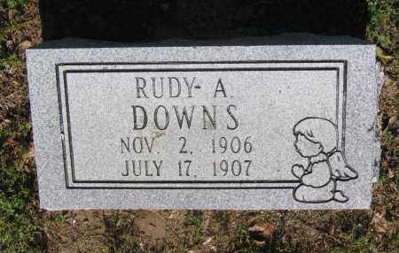 DOWNS, RUDY A. - Lawrence County, Arkansas | RUDY A. DOWNS - Arkansas Gravestone Photos