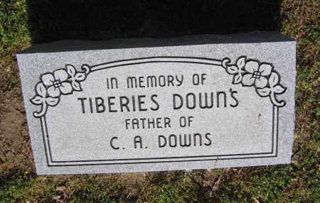 DOWNS, TIBERIES - Lawrence County, Arkansas | TIBERIES DOWNS - Arkansas Gravestone Photos