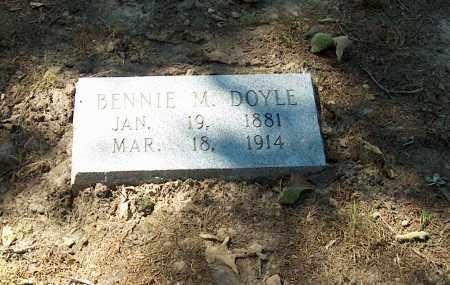 "DOYLE, BENJAMIN M. ""BENNIE"" - Lawrence County, Arkansas | BENJAMIN M. ""BENNIE"" DOYLE - Arkansas Gravestone Photos"