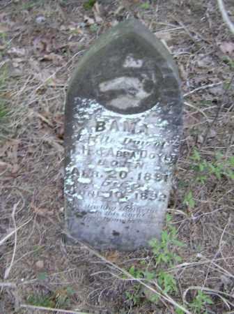 DOYLE, BAMA - Lawrence County, Arkansas | BAMA DOYLE - Arkansas Gravestone Photos