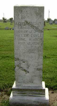 DOYLE, CAMERON BROOKS - Lawrence County, Arkansas | CAMERON BROOKS DOYLE - Arkansas Gravestone Photos