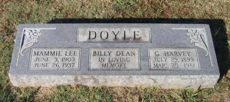 DOYLE, GEORGE HARVEY - Lawrence County, Arkansas | GEORGE HARVEY DOYLE - Arkansas Gravestone Photos