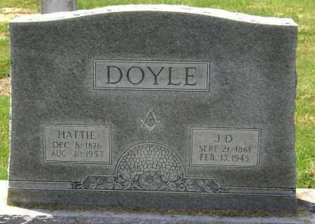 DOYLE, HATTIE EVELYN LINDSEY GIBSON - Lawrence County, Arkansas | HATTIE EVELYN LINDSEY GIBSON DOYLE - Arkansas Gravestone Photos