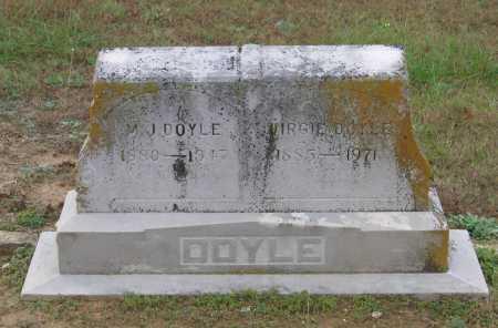 DOYLE, VIRGIE - Lawrence County, Arkansas | VIRGIE DOYLE - Arkansas Gravestone Photos