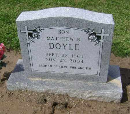 DOYLE, MATTHEW BELK - Lawrence County, Arkansas | MATTHEW BELK DOYLE - Arkansas Gravestone Photos