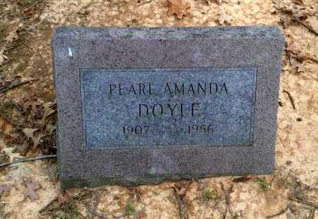 DOYLE, PEARL AMANDA - Lawrence County, Arkansas | PEARL AMANDA DOYLE - Arkansas Gravestone Photos