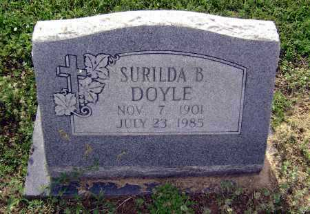 DOYLE BONE, SURILDA BELLE - Lawrence County, Arkansas | SURILDA BELLE DOYLE BONE - Arkansas Gravestone Photos