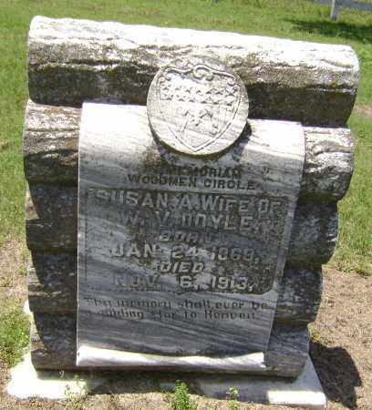 HORN DOYLE, SUSAN ABBIE - Lawrence County, Arkansas | SUSAN ABBIE HORN DOYLE - Arkansas Gravestone Photos