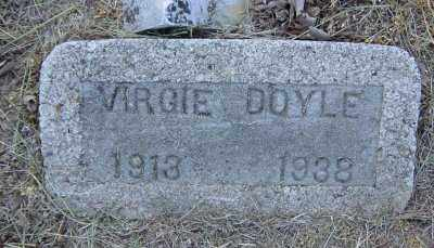 SHARP DOYLE, VIRGIE - Lawrence County, Arkansas | VIRGIE SHARP DOYLE - Arkansas Gravestone Photos
