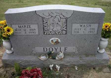 DOYLE, MARZE - Lawrence County, Arkansas | MARZE DOYLE - Arkansas Gravestone Photos