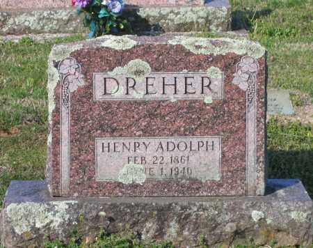 DREHER, HENRY ADOLPH - Lawrence County, Arkansas | HENRY ADOLPH DREHER - Arkansas Gravestone Photos
