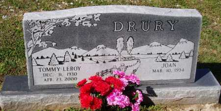 DRURY, TOMMY LEROY - Lawrence County, Arkansas | TOMMY LEROY DRURY - Arkansas Gravestone Photos