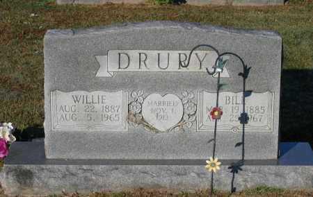 DRURY, WILLIE K. - Lawrence County, Arkansas | WILLIE K. DRURY - Arkansas Gravestone Photos